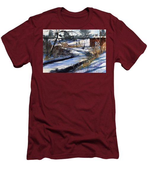 Rippleton Road River Men's T-Shirt (Athletic Fit)