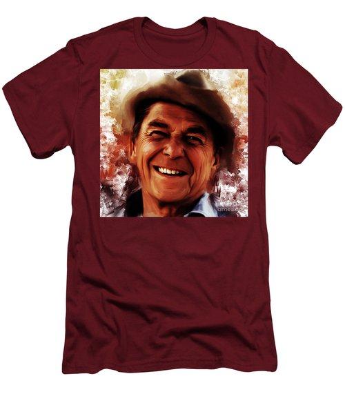 Ronald Reagan  Men's T-Shirt (Athletic Fit)