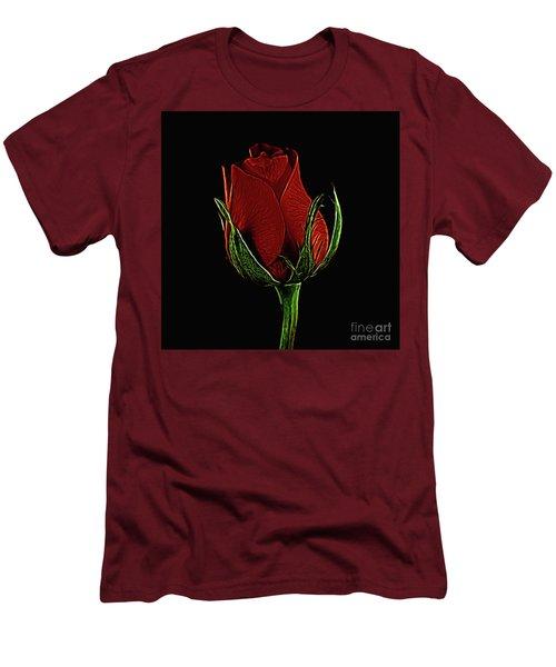 Rose 123 Men's T-Shirt (Athletic Fit)