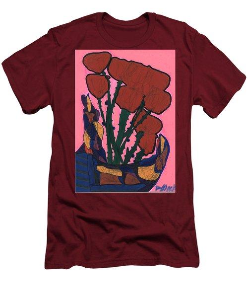 Rosebed Men's T-Shirt (Slim Fit) by Darrell Black