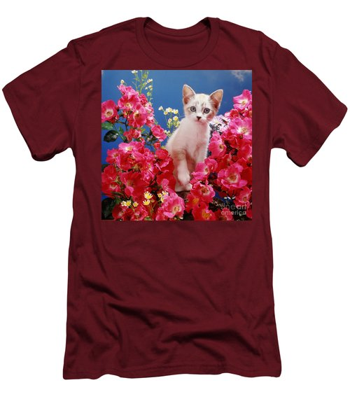 Roses Galore Men's T-Shirt (Athletic Fit)