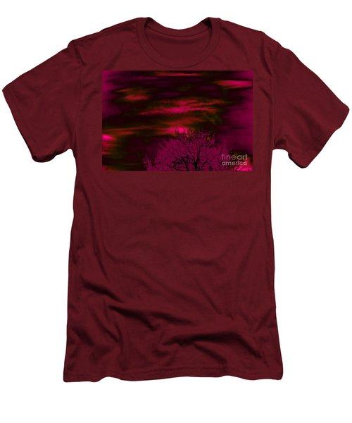 Purple Rain Men's T-Shirt (Slim Fit) by Jesse Ciazza