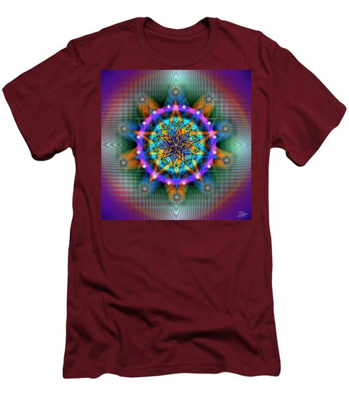 Sacred Geometry 661 Men's T-Shirt (Athletic Fit)