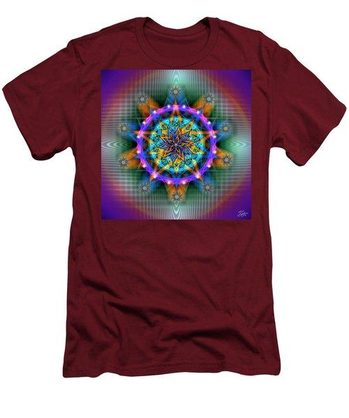 Sacred Geometry 661 Men's T-Shirt (Athletic Fit)