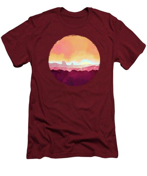 Scarlet Desert Men's T-Shirt (Athletic Fit)