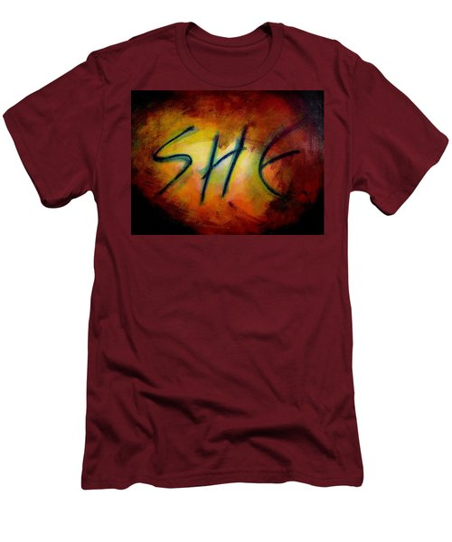 She Men's T-Shirt (Athletic Fit)