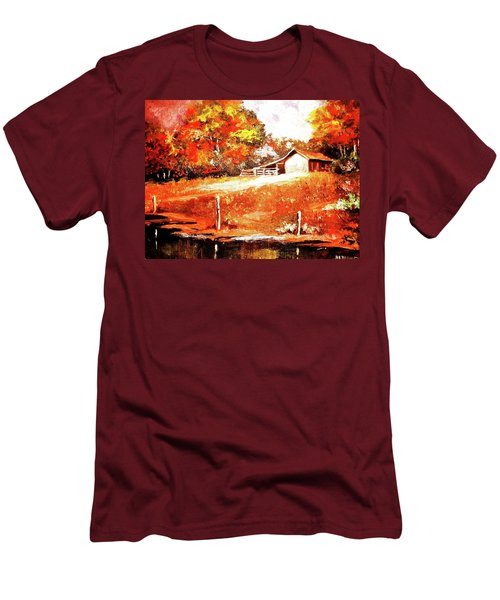 Signs Of Autumn Men's T-Shirt (Athletic Fit)