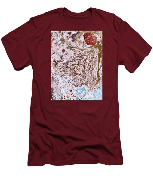 Snapping Turtle In The Sun Men's T-Shirt (Slim Fit) by Phil Strang