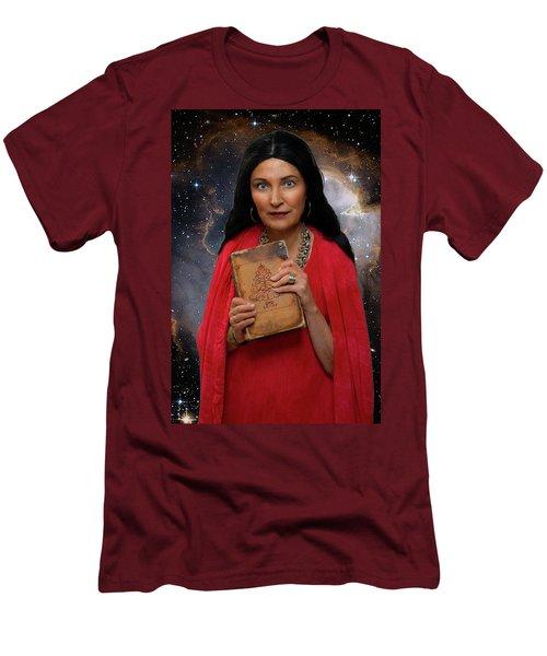 Sophia Men's T-Shirt (Slim Fit) by David Clanton