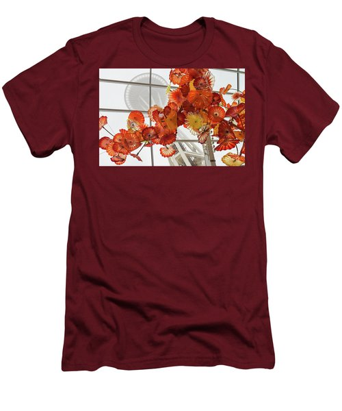 Space Needle And Chihuly Men's T-Shirt (Athletic Fit)
