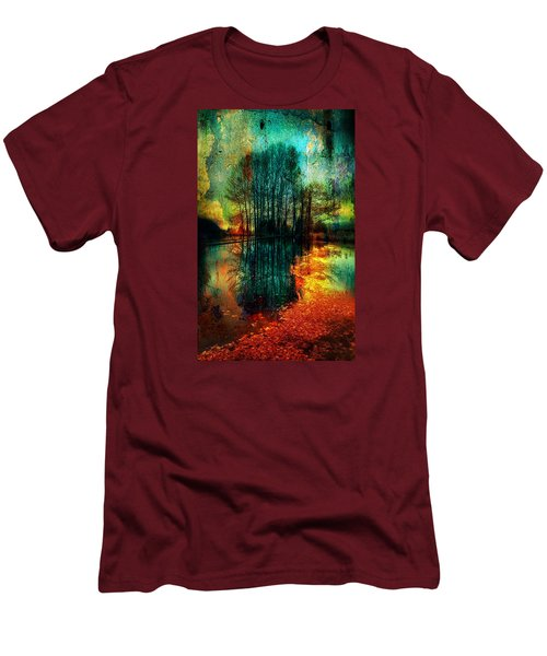 Spook Tree Men's T-Shirt (Slim Fit) by Greg Sharpe