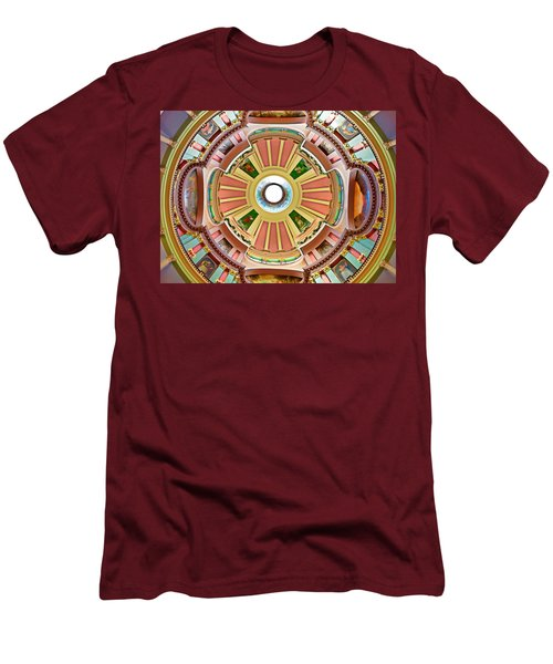 St Louis Old Courthouse Dome Men's T-Shirt (Athletic Fit)