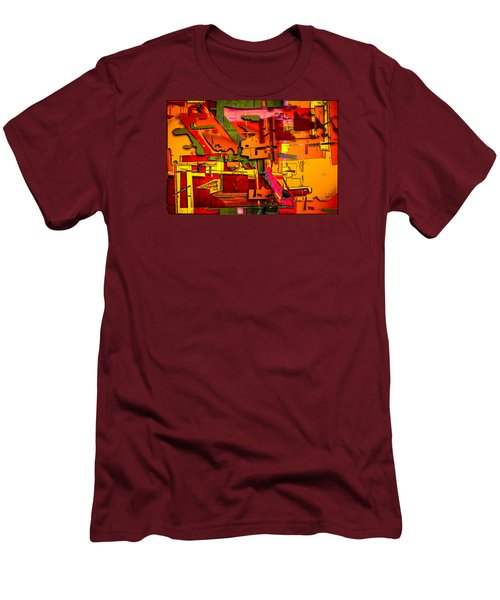 Industrial Autumn Men's T-Shirt (Slim Fit) by Don Gradner
