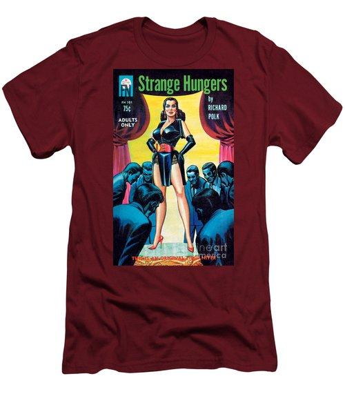 Strange Hungers Men's T-Shirt (Slim Fit) by Eric Stanton