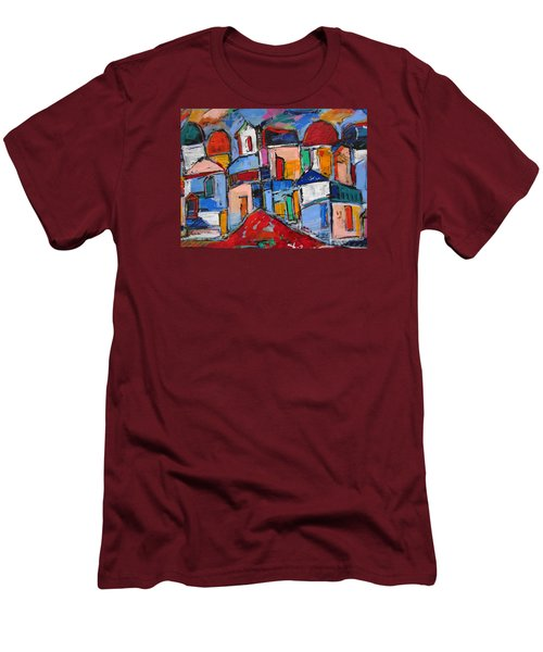 Streets Of Rome Men's T-Shirt (Athletic Fit)