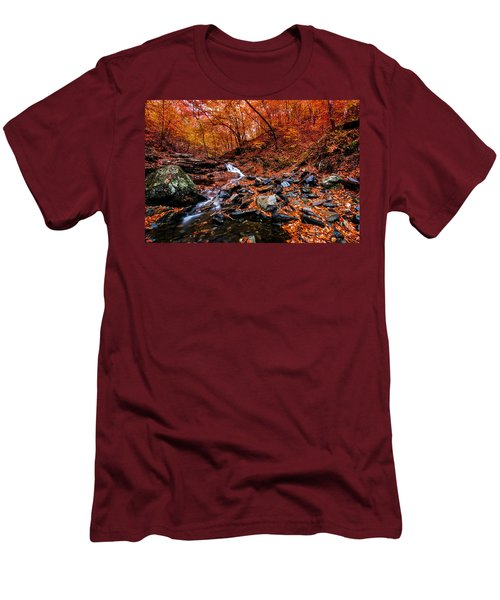 Men's T-Shirt (Slim Fit) featuring the photograph Stress Relief by Edward Kreis