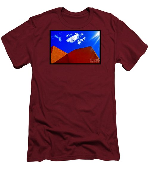 Men's T-Shirt (Slim Fit) featuring the photograph Summer Day In The New World by Susanne Still