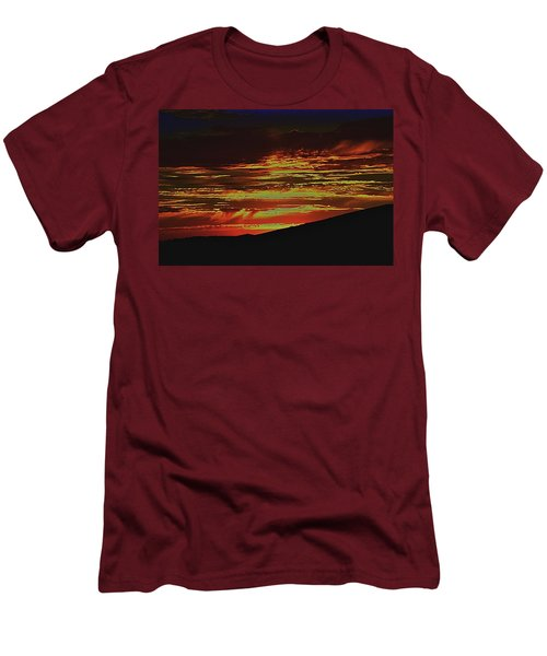 Summer Sunset Rain Men's T-Shirt (Athletic Fit)