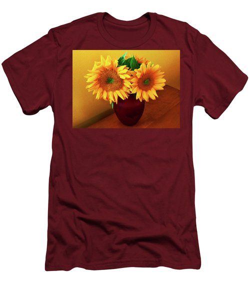 Sunflower Corner Men's T-Shirt (Athletic Fit)