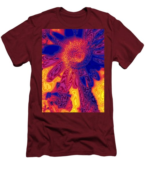 Sunny And Wild Men's T-Shirt (Slim Fit) by Stephen Anderson