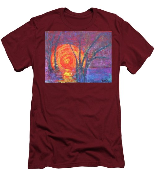 Sunset Men's T-Shirt (Slim Fit)