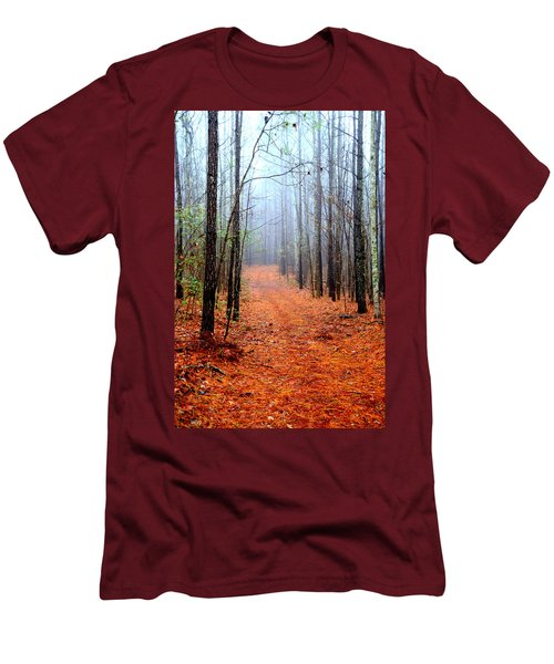 Taking A Stroll Men's T-Shirt (Athletic Fit)