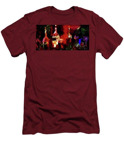 Taste Of Wine Men's T-Shirt (Slim Fit) by Lisa Kaiser