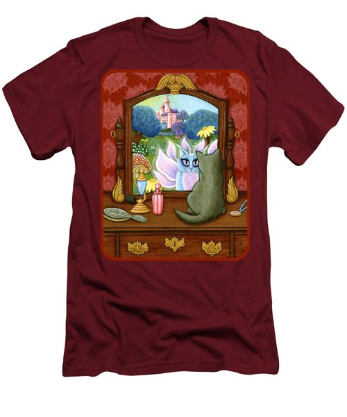 The Chimera Vanity - Fantasy World Men's T-Shirt (Slim Fit) by Carrie Hawks