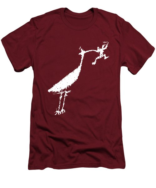 The Crane Men's T-Shirt (Slim Fit) by Melany Sarafis
