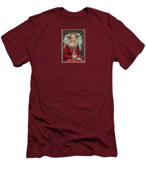 The Lady Mae   Bas Relief Miniature Men's T-Shirt (Athletic Fit)