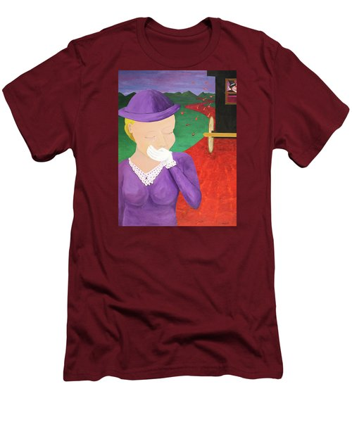 The One That Got Away Men's T-Shirt (Slim Fit) by Thomas Blood