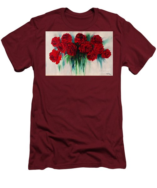 The Roses Of My Summer Men's T-Shirt (Athletic Fit)