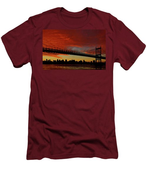 The Sky Is Burning Men's T-Shirt (Athletic Fit)