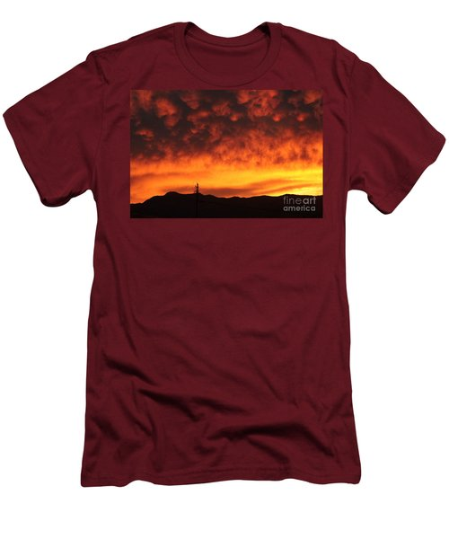 The Sun Goes Down Men's T-Shirt (Athletic Fit)