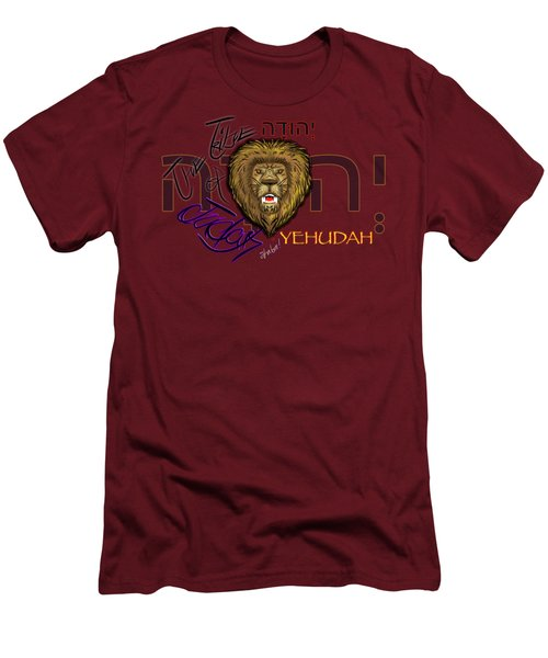 The Tribe Of Judah Hebrew Men's T-Shirt (Athletic Fit)