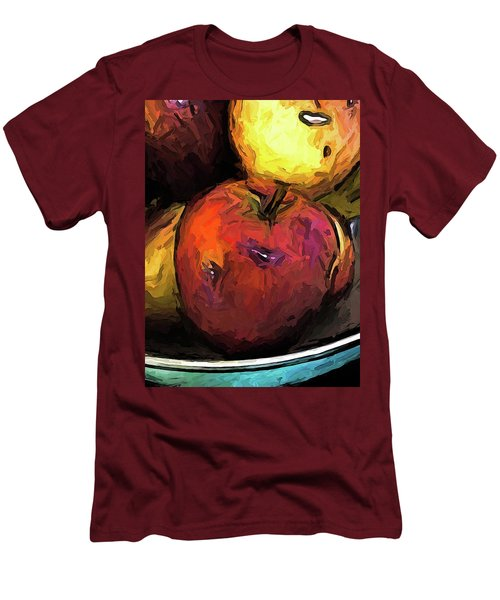 The Wine Apple With The Gold Apples Men's T-Shirt (Athletic Fit)
