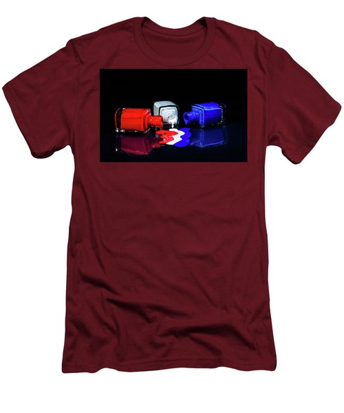 These Colors Don't Run Men's T-Shirt (Athletic Fit)