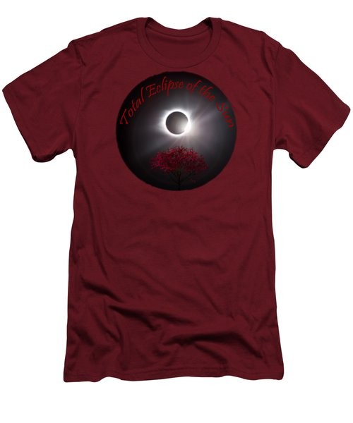 Total Eclipse T Shirt Art  Men's T-Shirt (Athletic Fit)