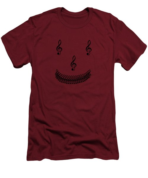 Treble Smile Men's T-Shirt (Athletic Fit)