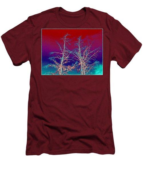 Treetops 4 Men's T-Shirt (Slim Fit) by Will Borden