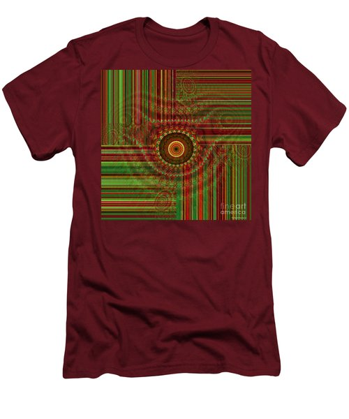Tribal Drape Men's T-Shirt (Athletic Fit)