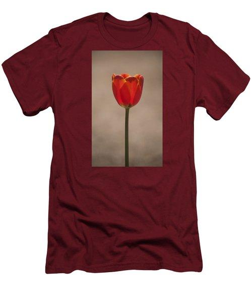 Tulip En Fuego Men's T-Shirt (Athletic Fit)