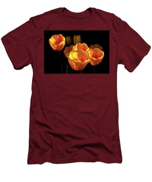 Tulip Festival Participants Men's T-Shirt (Athletic Fit)