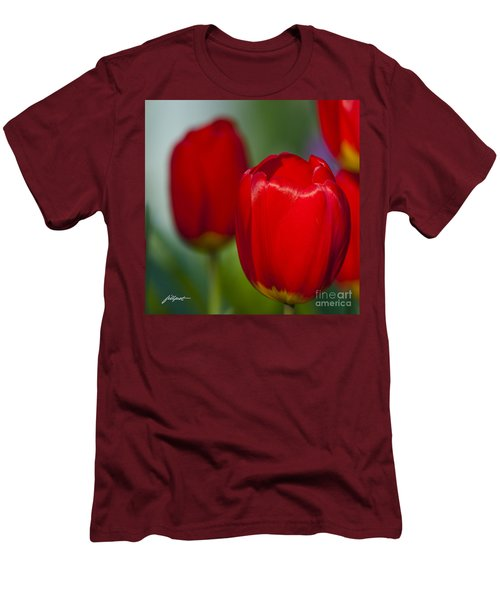 Tulip Perfection Men's T-Shirt (Athletic Fit)