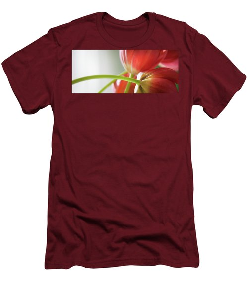 Tulips In The Morning Men's T-Shirt (Slim Fit) by Theresa Tahara