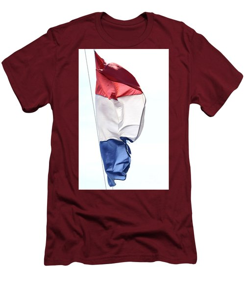 Men's T-Shirt (Athletic Fit) featuring the photograph Unfurl 01 by Stephen Mitchell