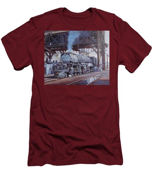 Union Pacific Big Boy Men's T-Shirt (Athletic Fit)