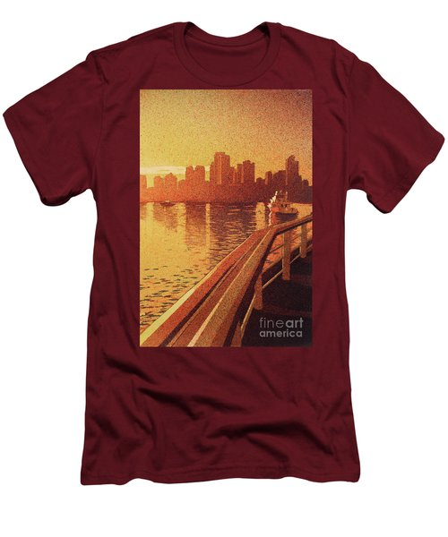 Vancouver Morning- Bc Men's T-Shirt (Athletic Fit)