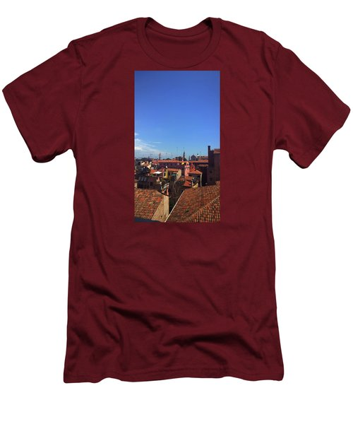 Men's T-Shirt (Athletic Fit) featuring the photograph Venetian Skyline by Anne Kotan