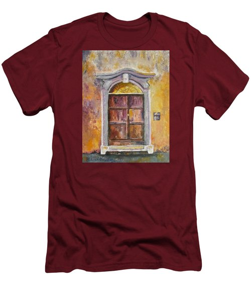 Venice Door Men's T-Shirt (Slim Fit) by Lisa Boyd